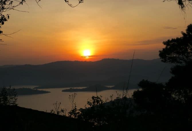 שקיעה ברואנדה