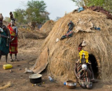 כפר מסורתי באתיופיה