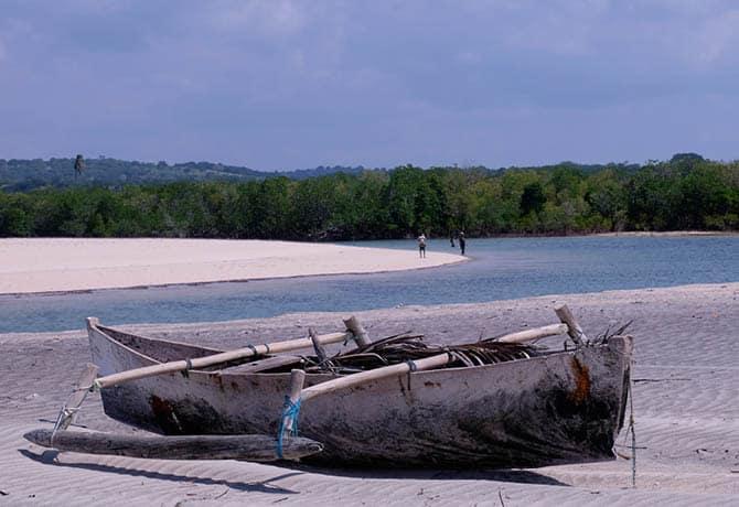 סירות דאו מסורתיות