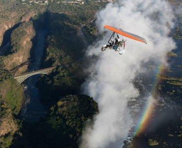 טיסה מעל זמביה