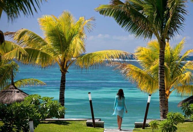 חוף ים באי מאוריציוס
