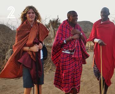 מסע משפחתי אל אפריקה