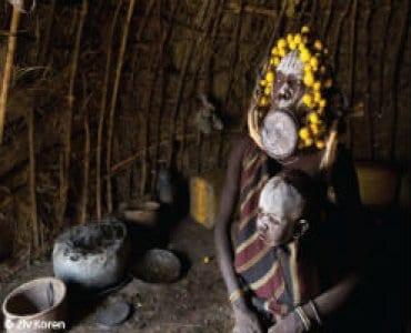 משפחה אתיופית מסורתית