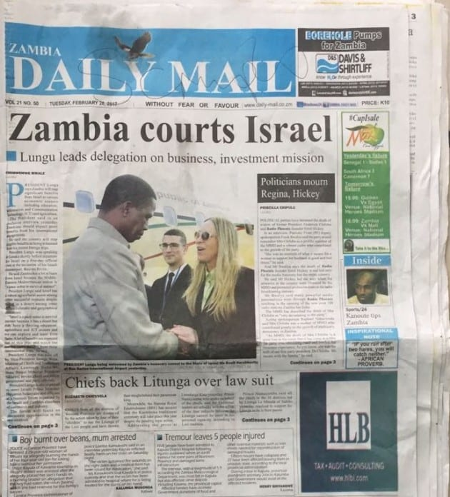 zambia-president
